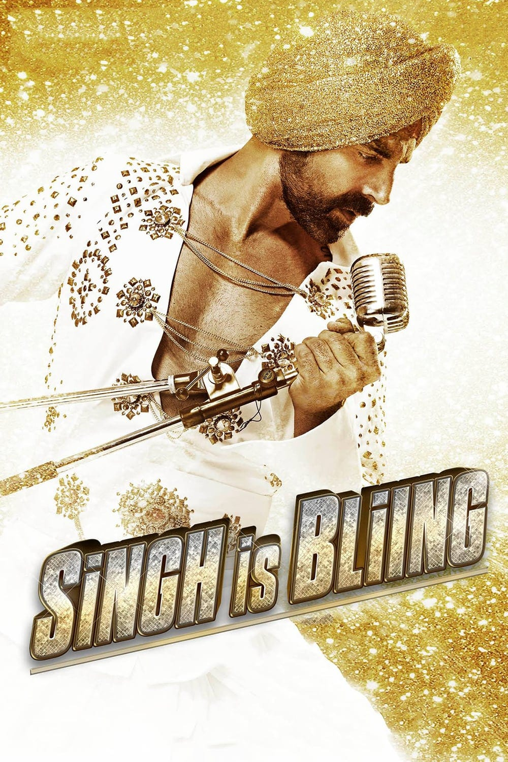 """Poster for the movie """"Singh Is Bliing"""""""