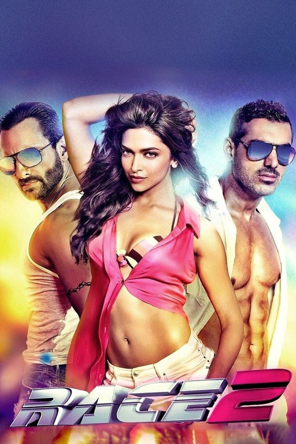 """Poster for the movie """"Race 2"""""""
