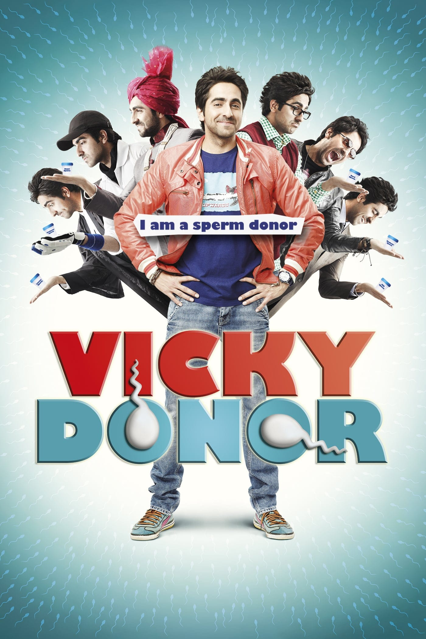 """Poster for the movie """"Vicky Donor"""""""