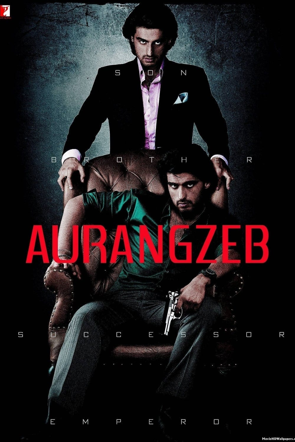 """Poster for the movie """"Aurangzeb"""""""