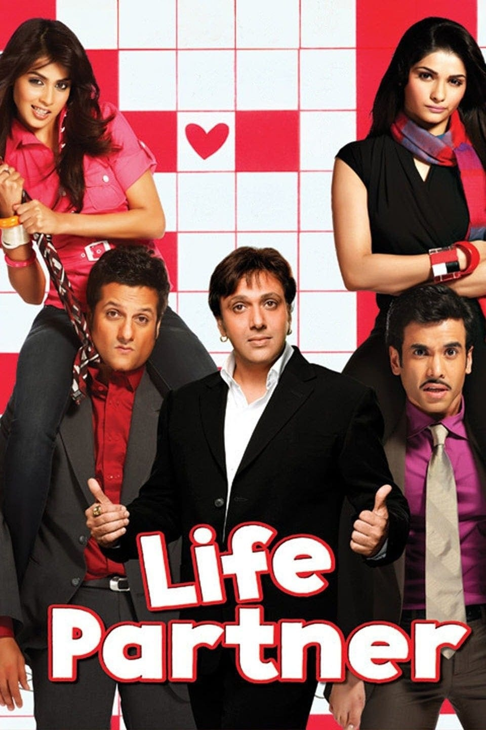 """Poster for the movie """"Life Partner"""""""