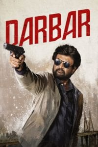"Poster for the movie ""Darbar"""