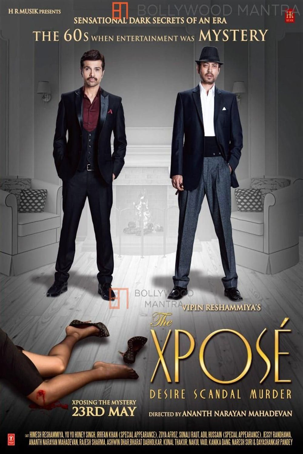 """Poster for the movie """"The Xposé"""""""