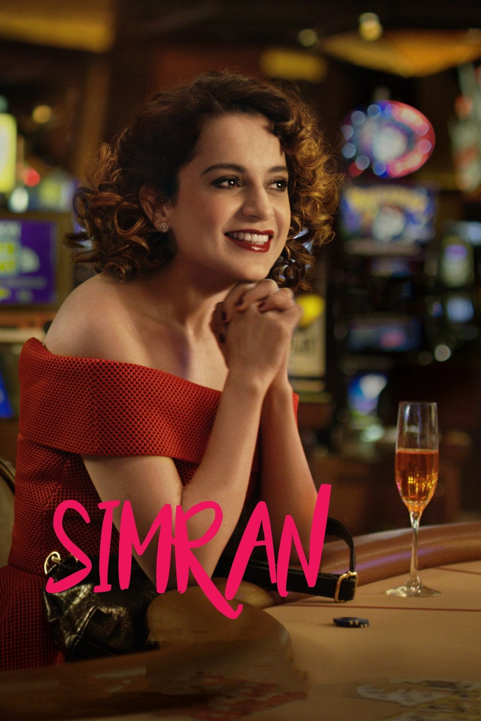 """Poster for the movie """"Simran"""""""