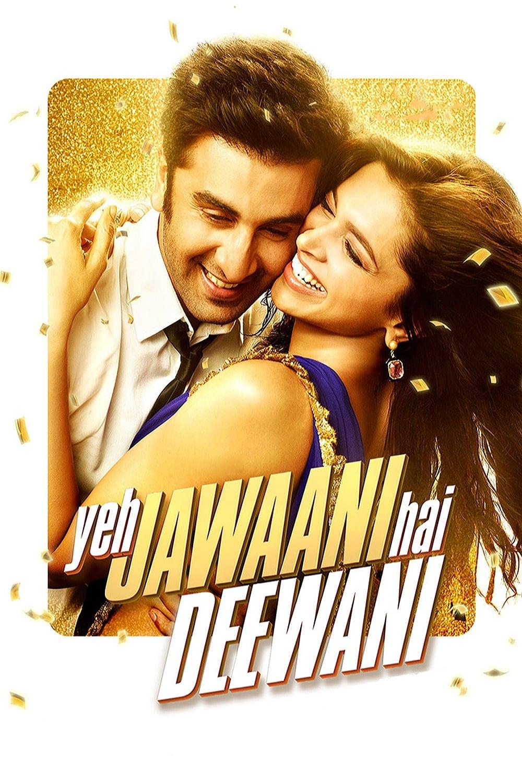 "Poster for the movie ""Yeh Jawaani Hai Deewani"""