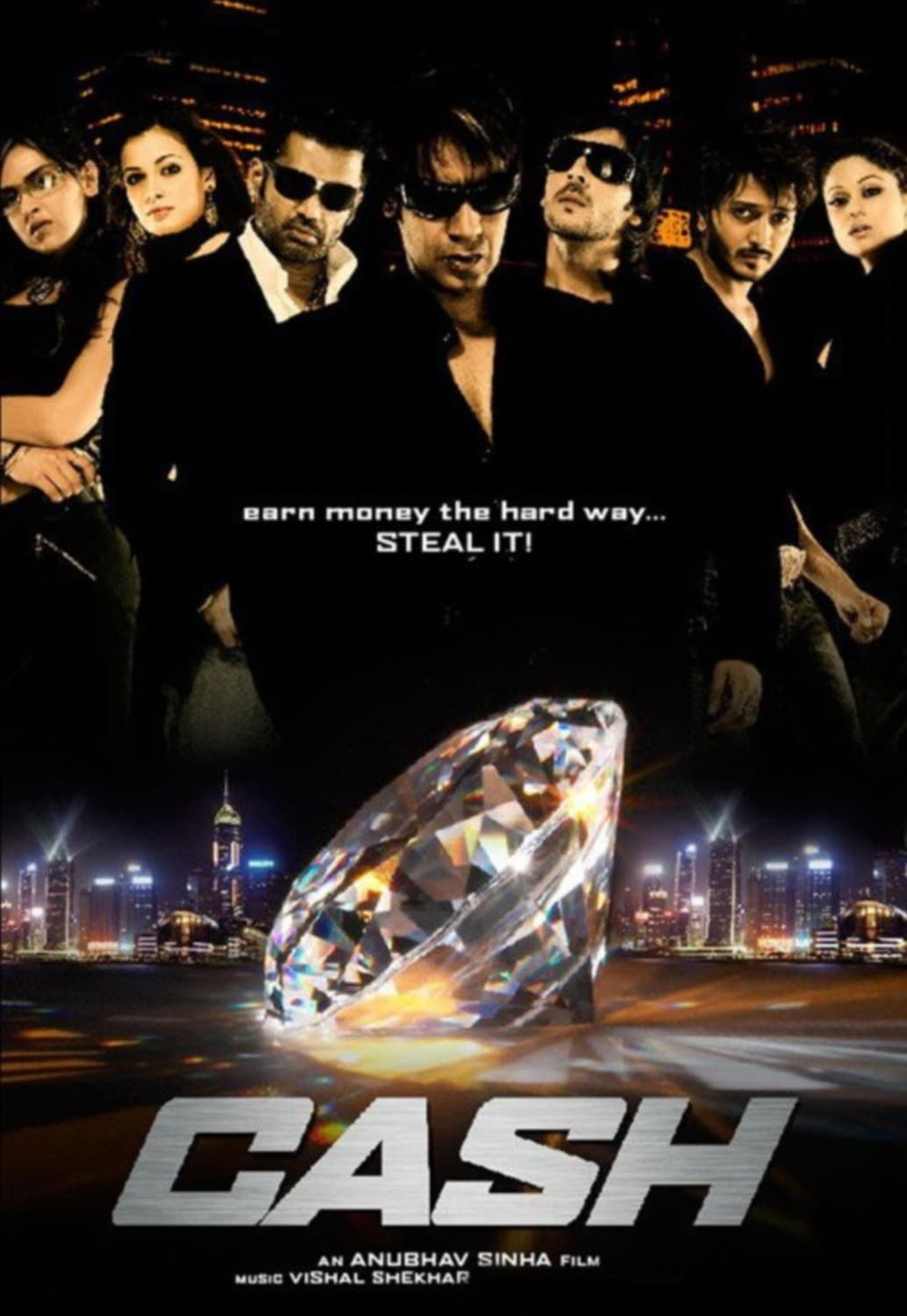 """Poster for the movie """"Cash"""""""
