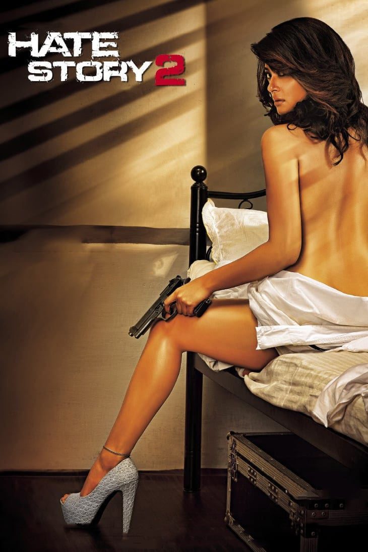 """Poster for the movie """"Hate Story 2"""""""