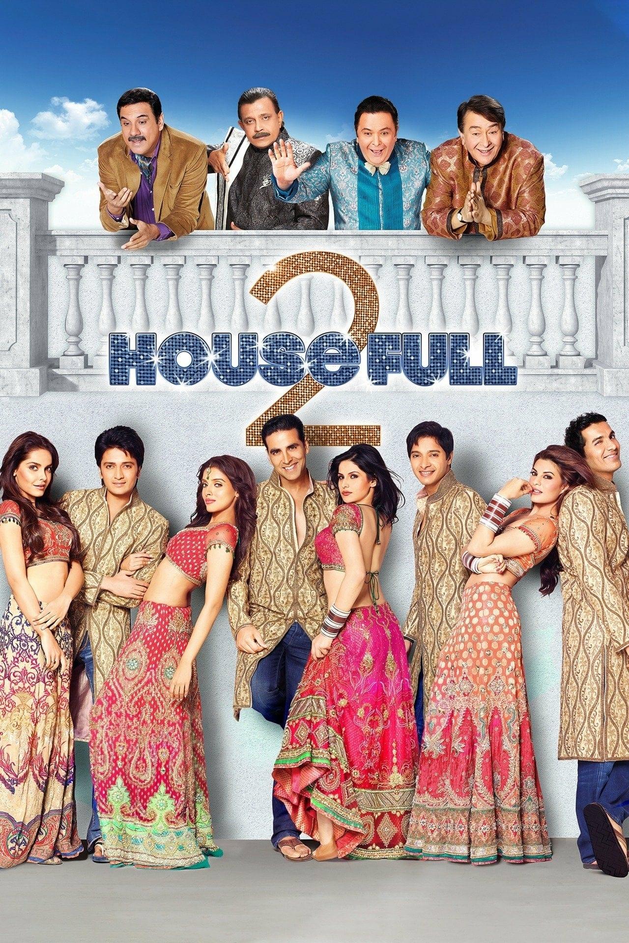 "Poster for the movie ""Housefull 2"""