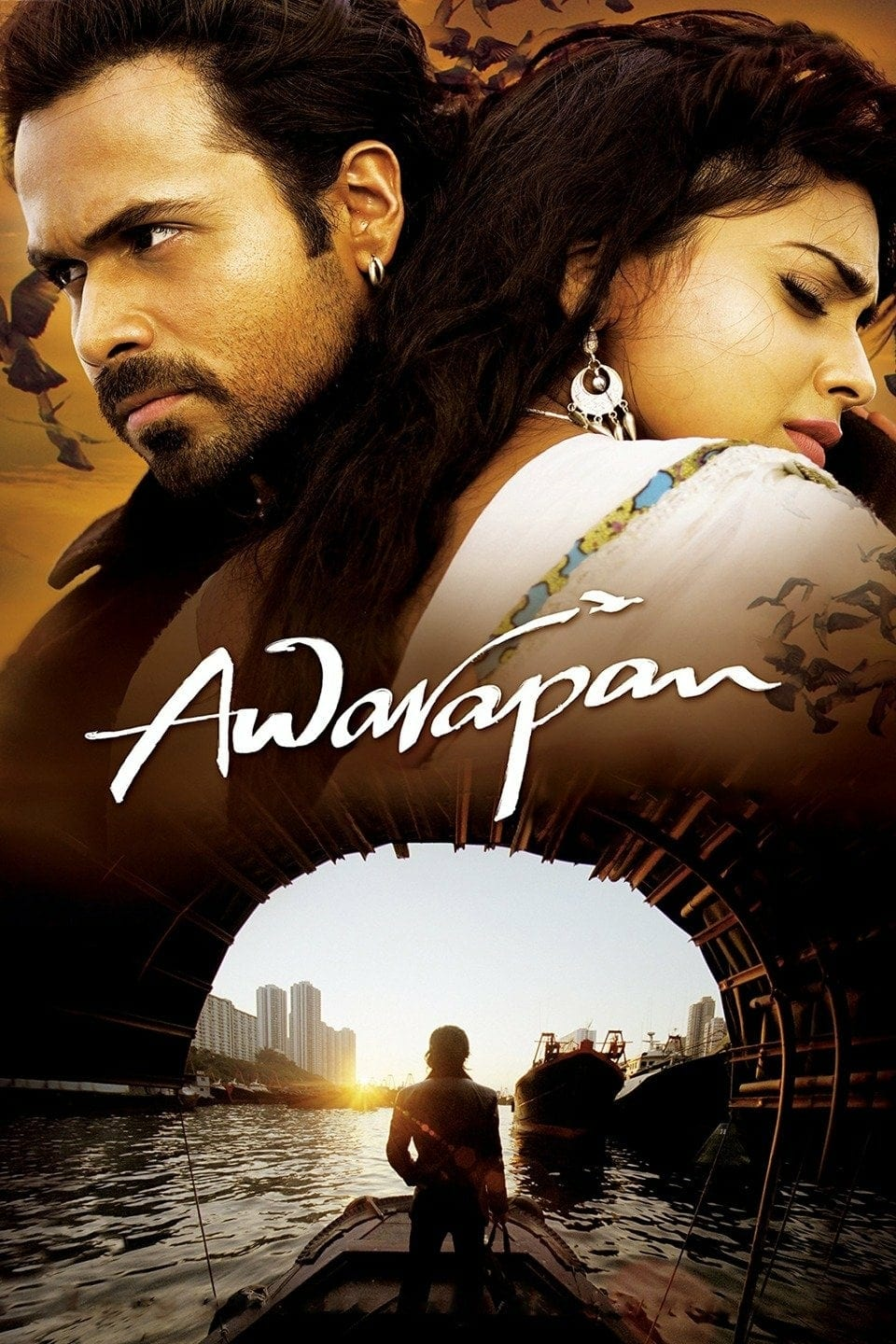 "Poster for the movie ""Awarapan"""