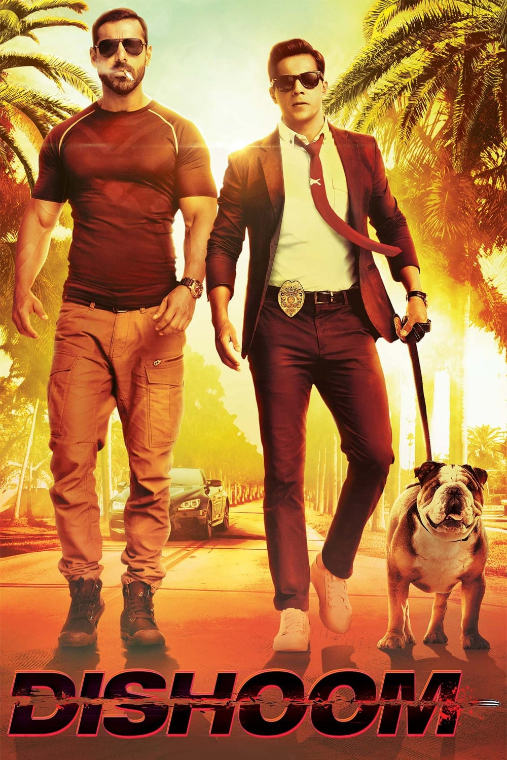 """Poster for the movie """"Dishoom"""""""