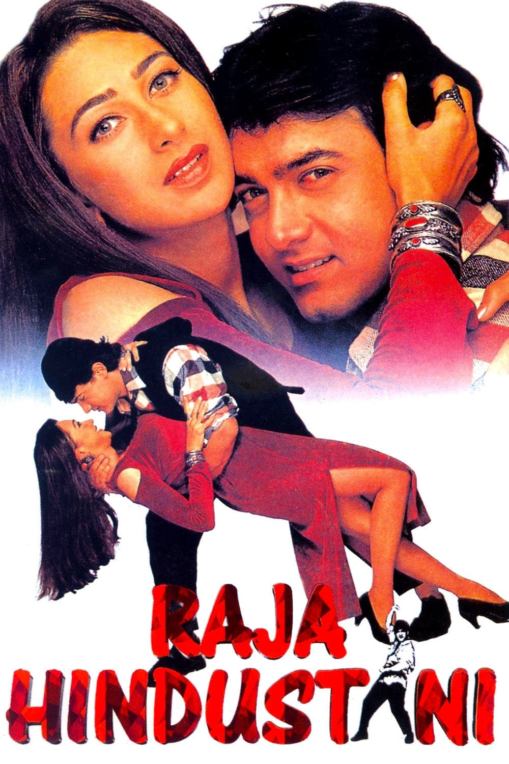 """Poster for the movie """"Raja Hindustani"""""""
