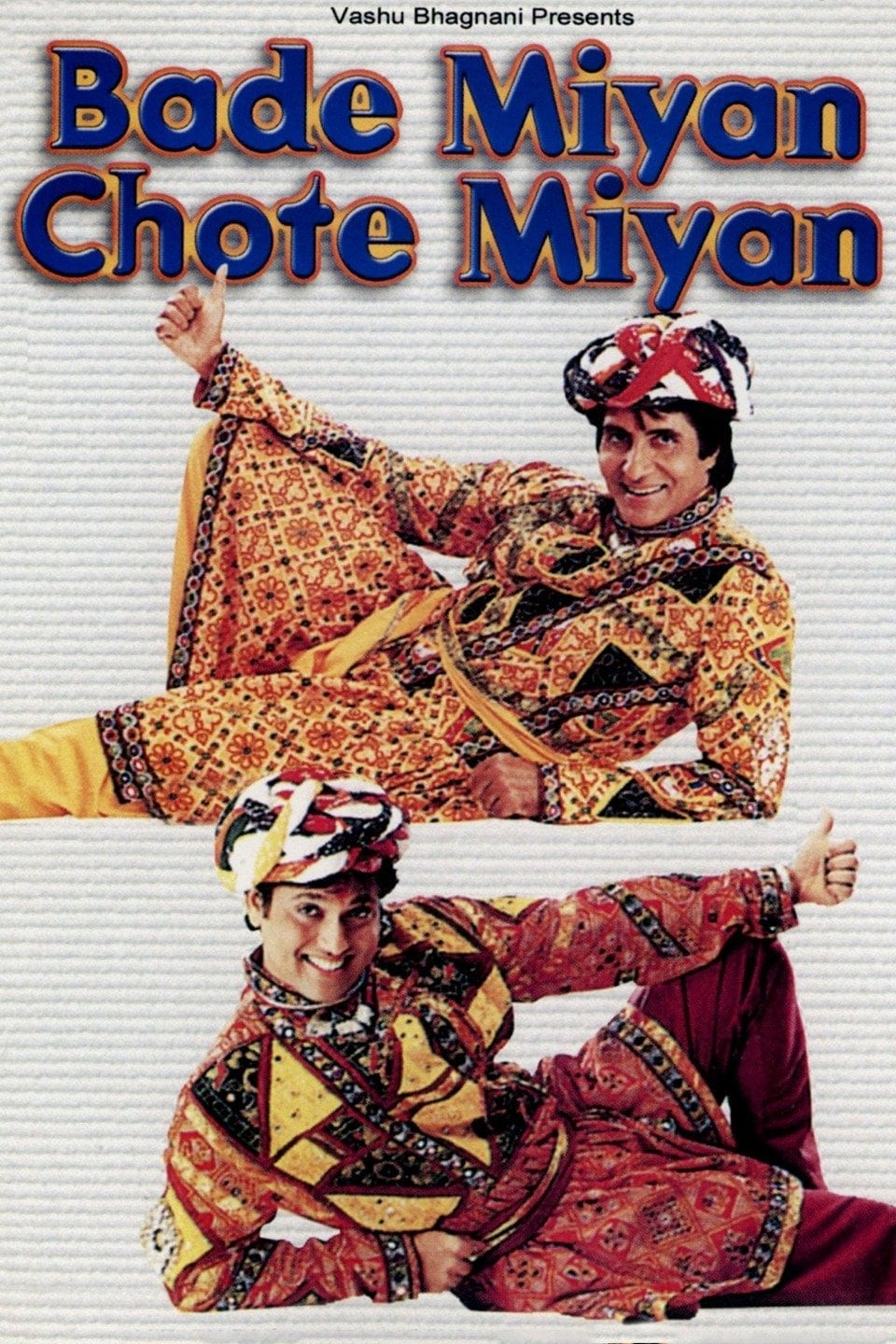"Poster for the movie ""Bade Miyan Chote Miyan"""