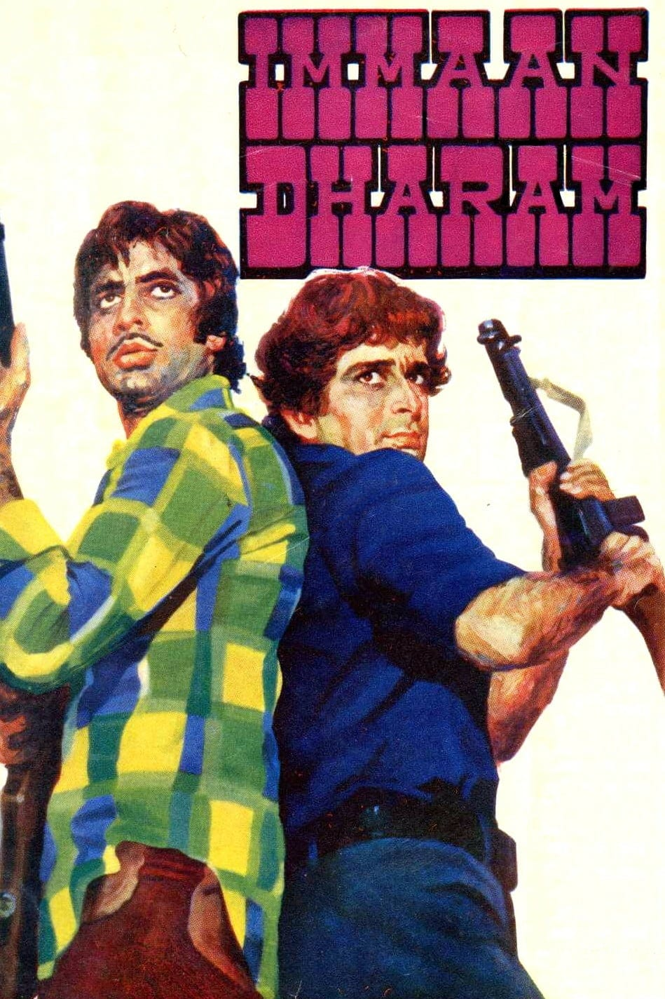 "Poster for the movie ""Immaan Dharam"""