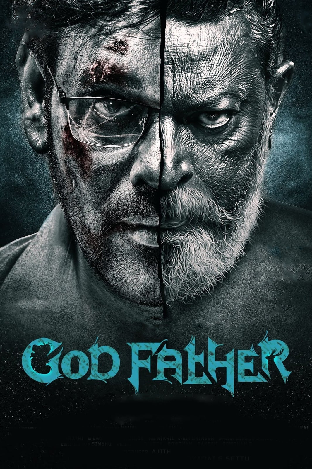 """Poster for the movie """"God Father"""""""