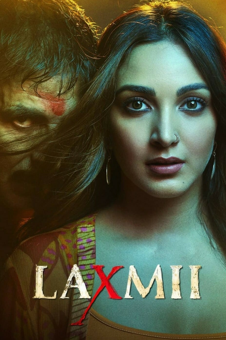 "Poster for the movie ""Laxmii"""