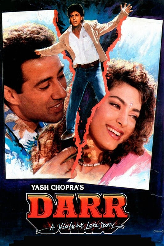 "Poster for the movie ""Darr"""