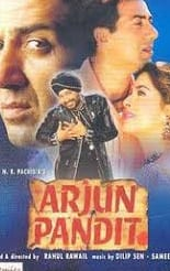 """Poster for the movie """"Arjun Pandit"""""""