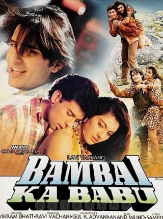 "Poster for the movie ""Bambai Ka Babu"""