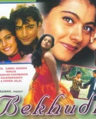 "Poster for the movie ""Bekhudi"""