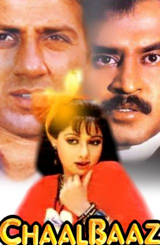 "Poster for the movie ""ChaalBaaz"""