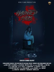 "Poster for the movie ""Haunted Hills"""