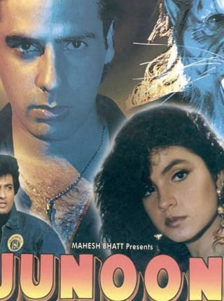 "Poster for the movie ""Junoon"""