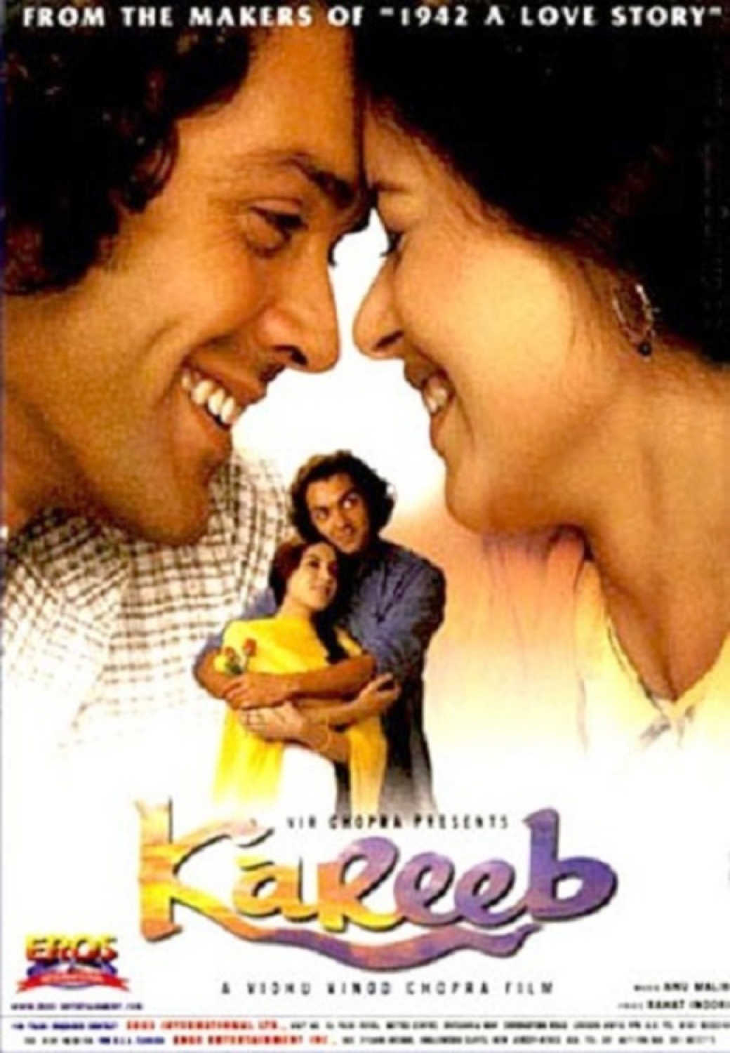 "Poster for the movie ""Kareeb"""