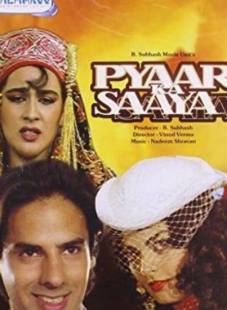 """Poster for the movie """"Pyaar Ka Saaya"""""""