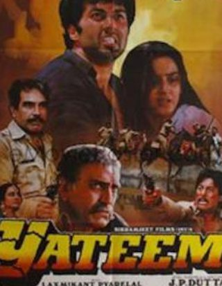 "Poster for the movie ""Yateem"""