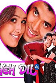 """Poster for the movie """"Yeh Dil"""""""