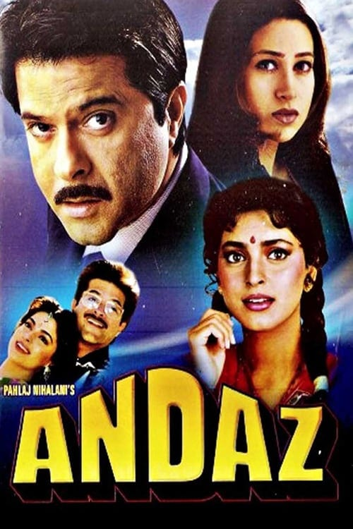 "Poster for the movie ""Andaz"""