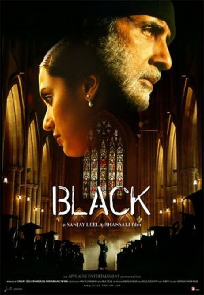 """Poster for the movie """"Black"""""""