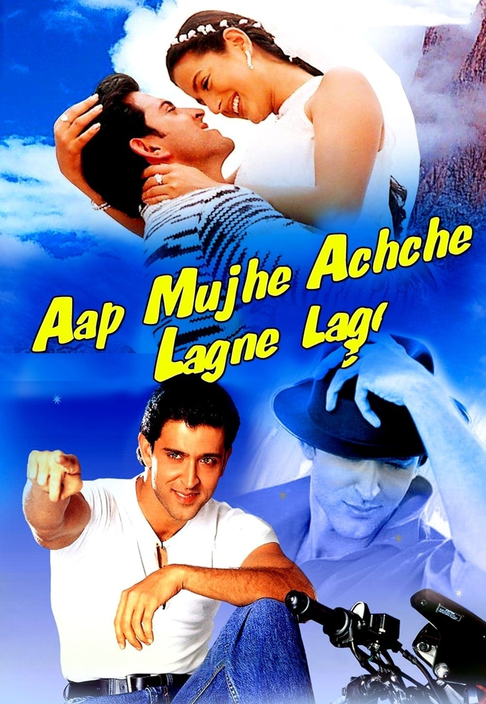 "Poster for the movie ""Aap Mujhe Achche Lagne Lage"""