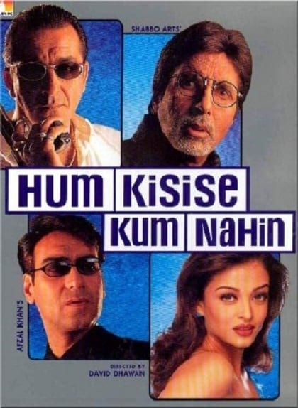 "Poster for the movie ""Hum Kisi Se Kum Nahin"""