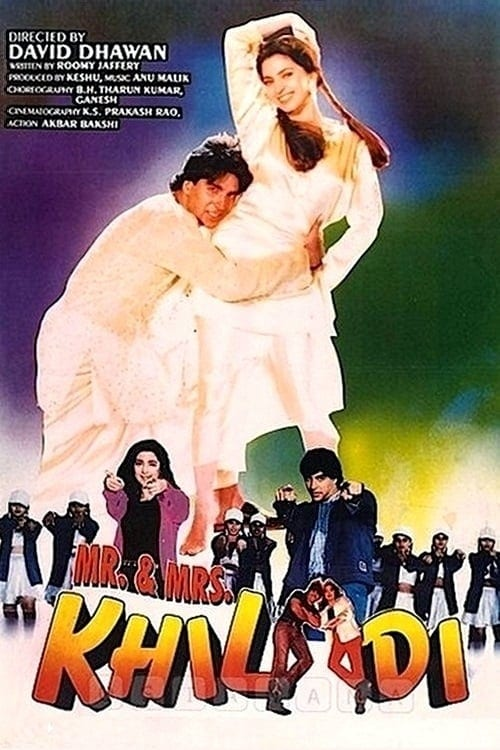 "Poster for the movie ""Mr. & Mrs. Khiladi"""