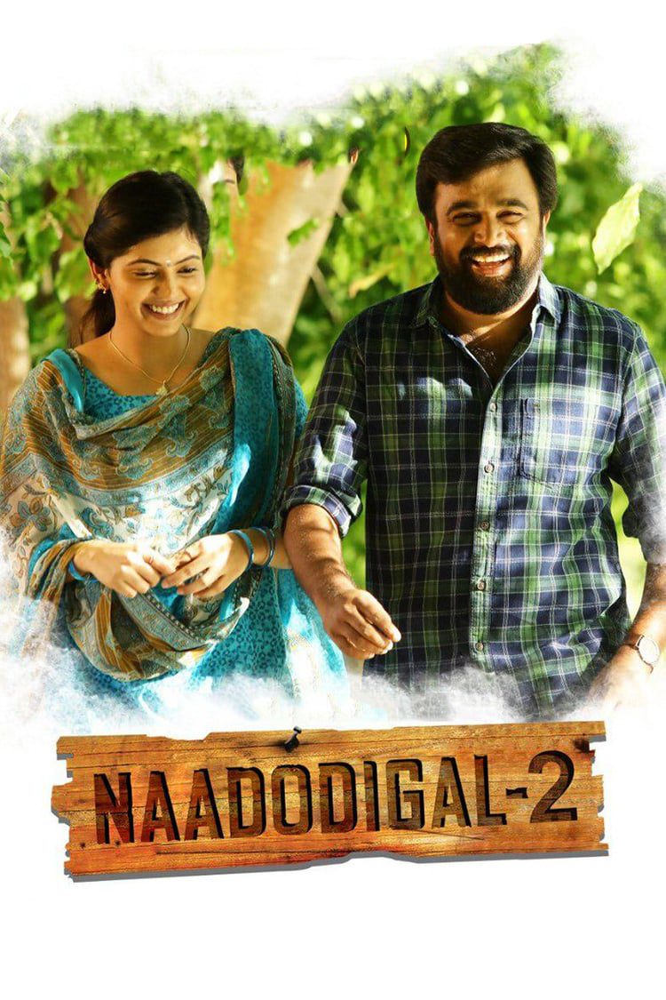 """Poster for the movie """"Naadodigal 2"""""""