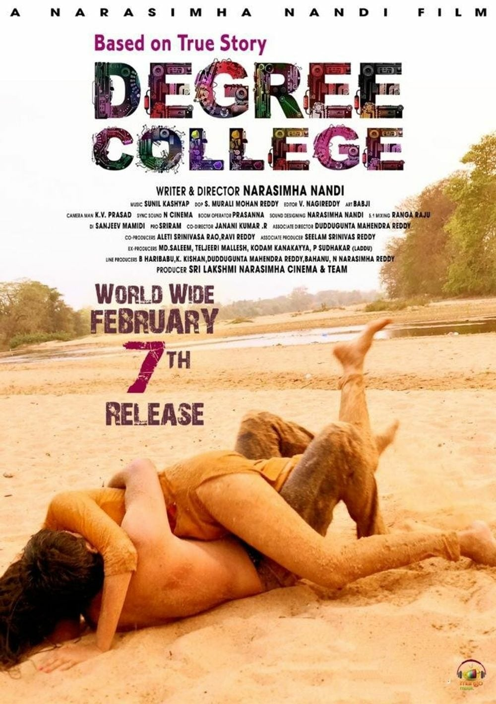 """Poster for the movie """"Degree College"""""""
