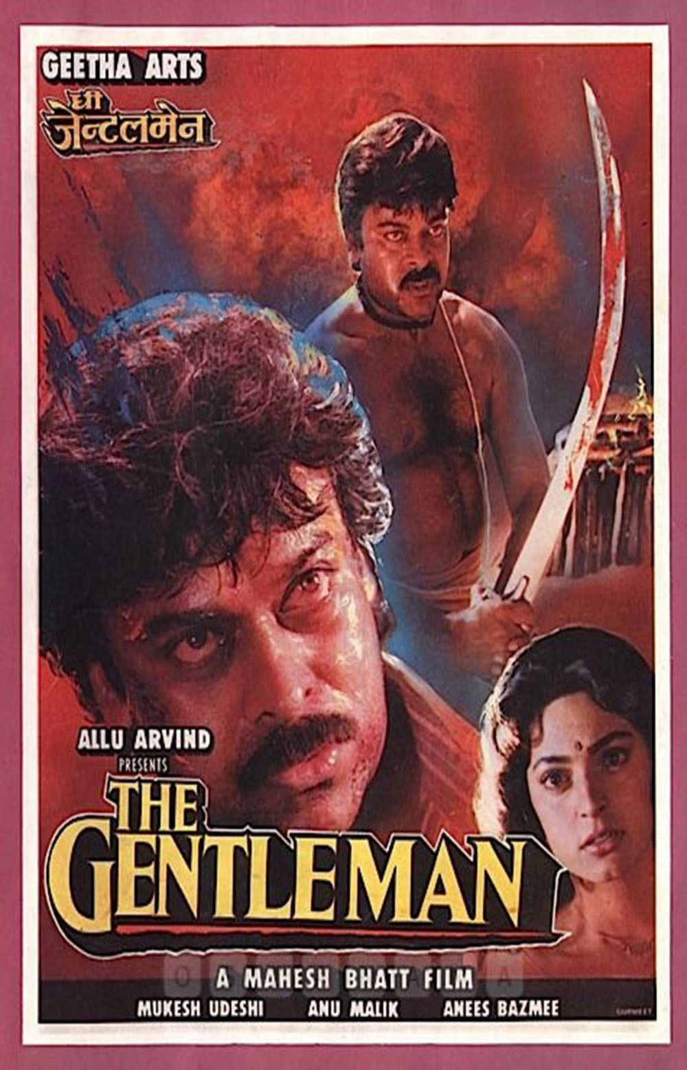"Poster for the movie ""The Gentleman"""