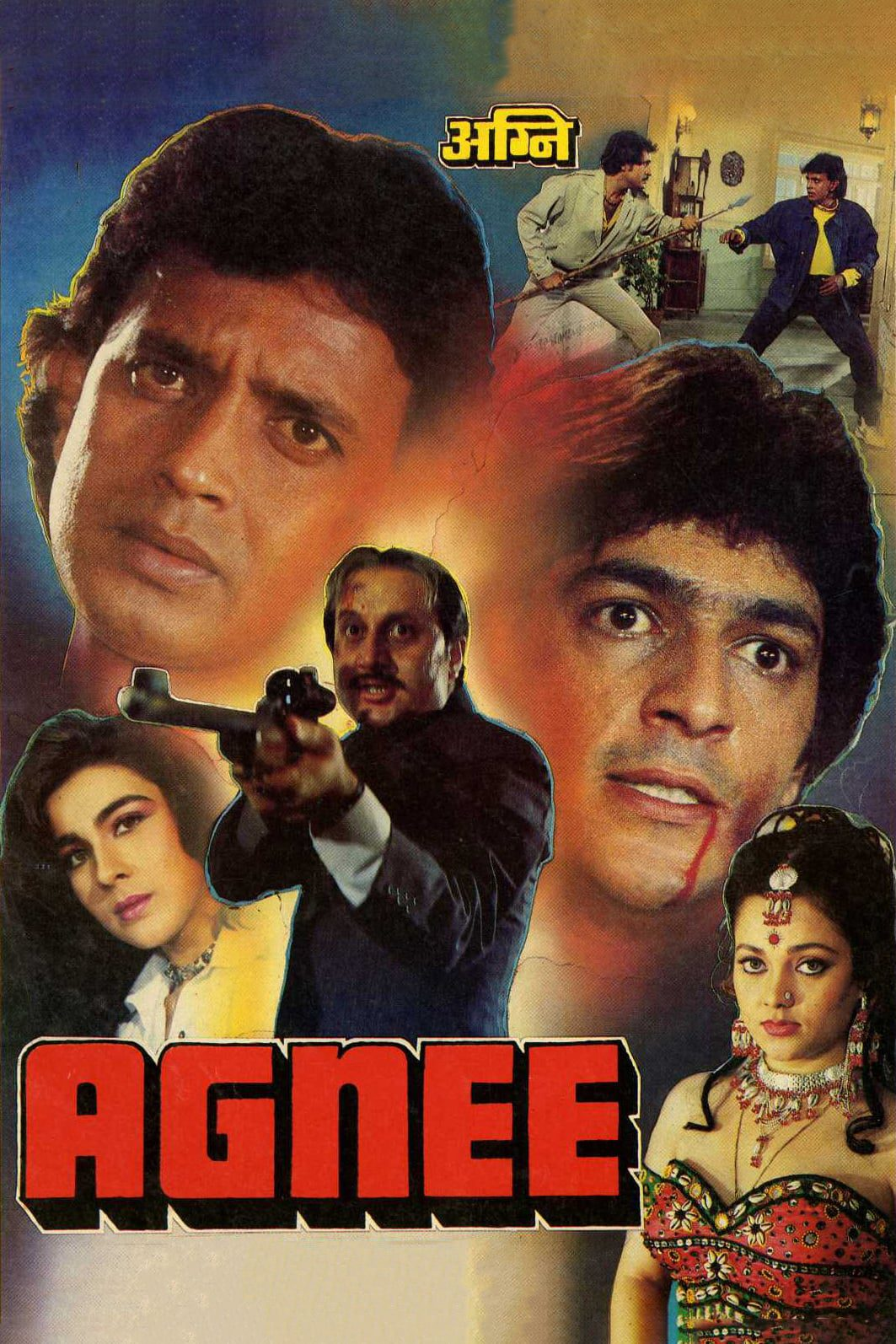 """Poster for the movie """"Agnee"""""""