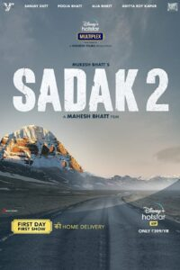 "Poster for the movie ""Sadak 2"""