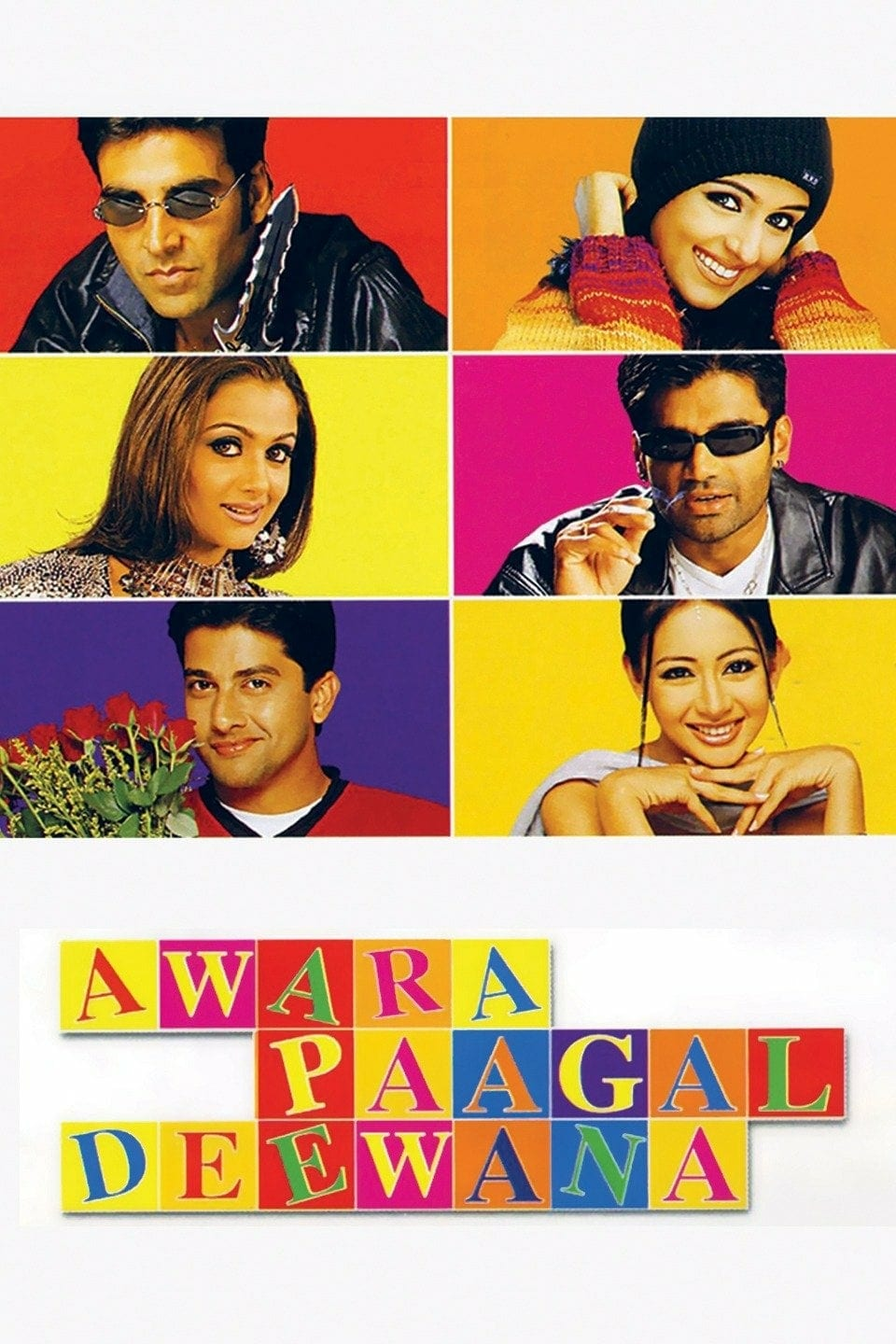 "Poster for the movie ""Awara Paagal Deewana"""