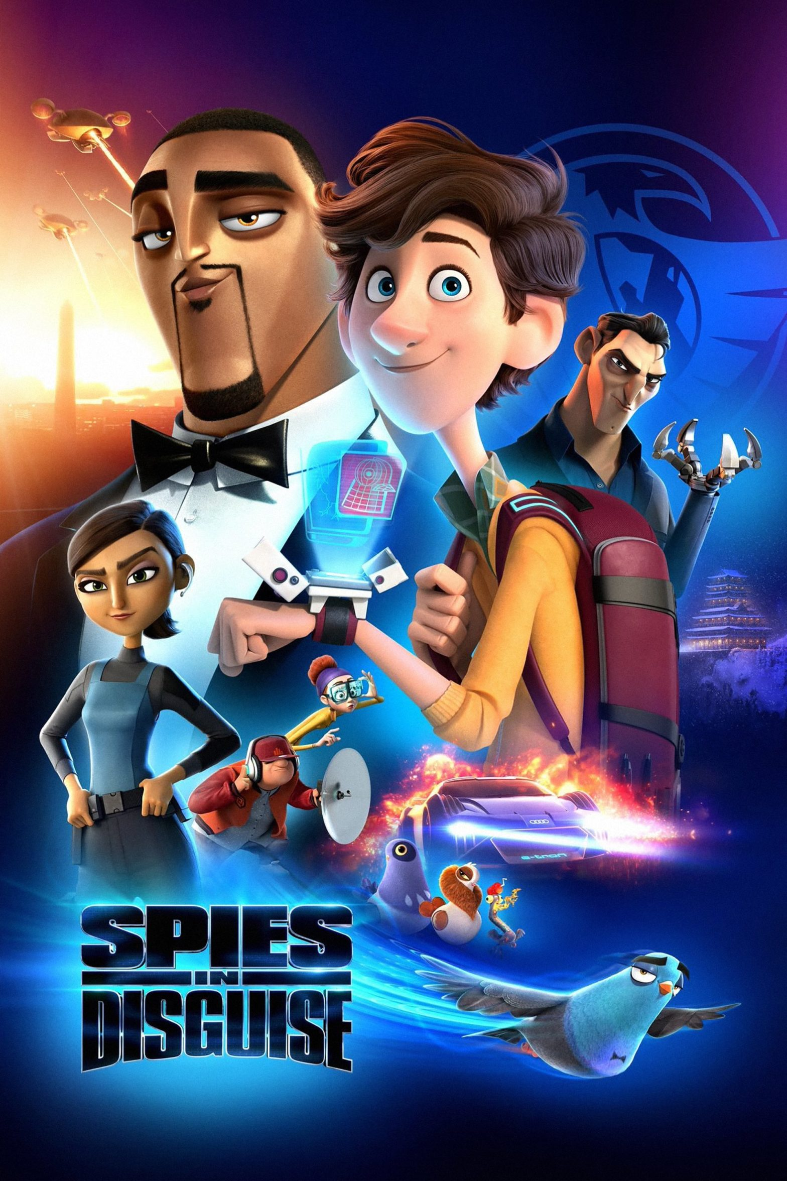 """Poster for the movie """"Spies in Disguise"""""""