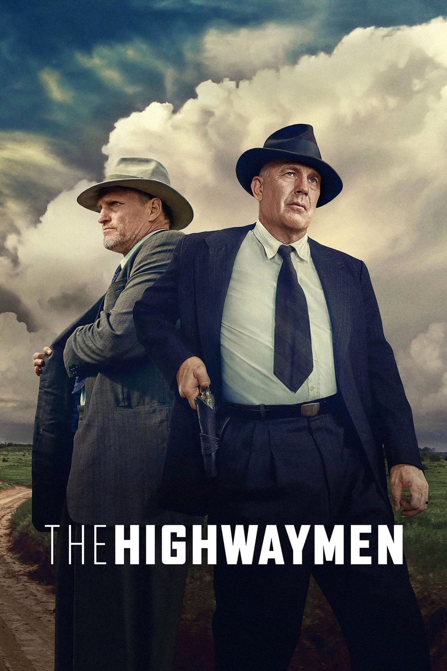 "Poster for the movie ""The Highwaymen"""