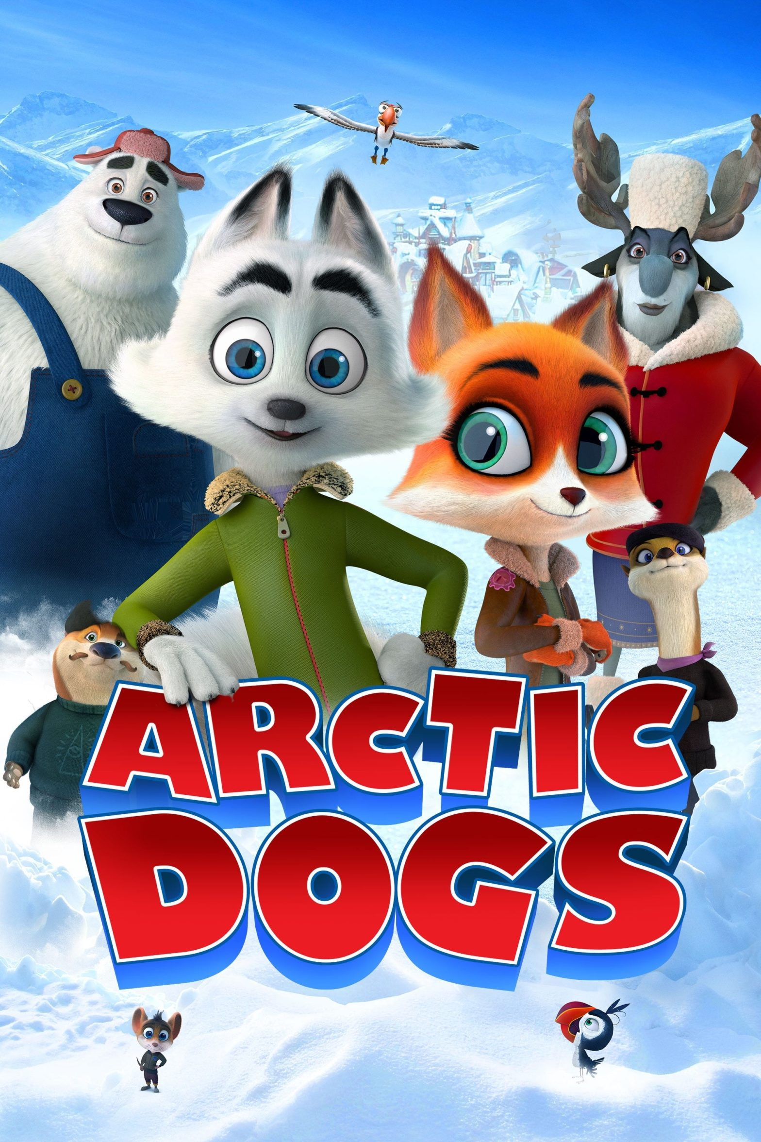 "Poster for the movie ""Arctic Dogs"""