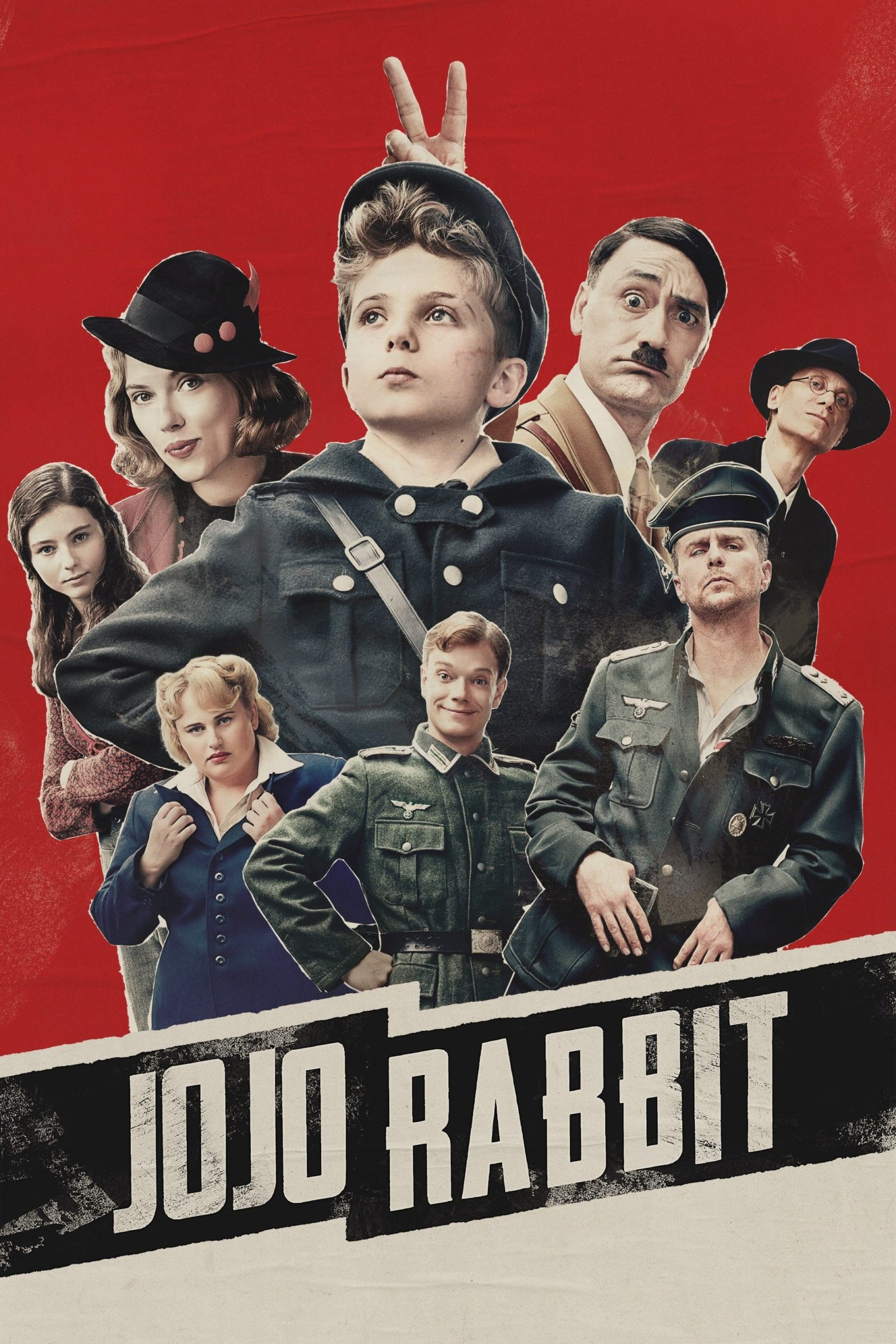 "Poster for the movie ""Jojo Rabbit"""
