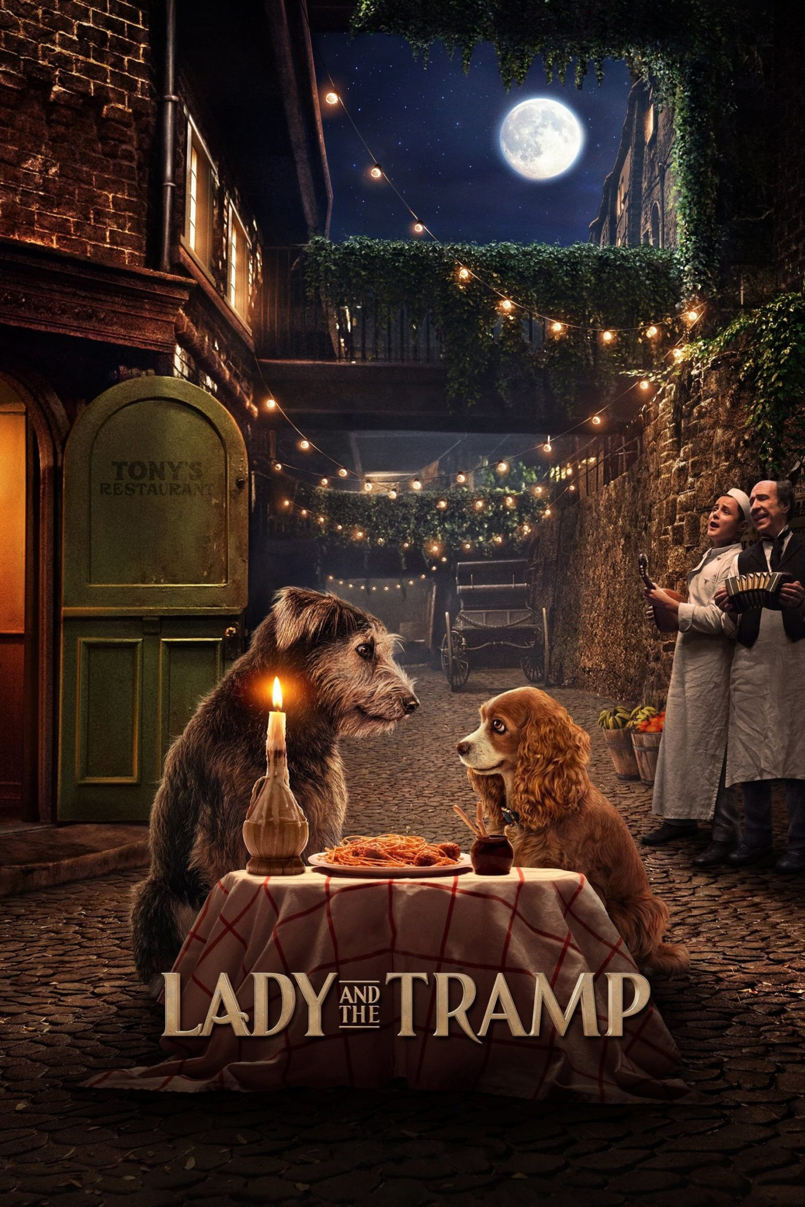 "Poster for the movie ""Lady and the Tramp"""