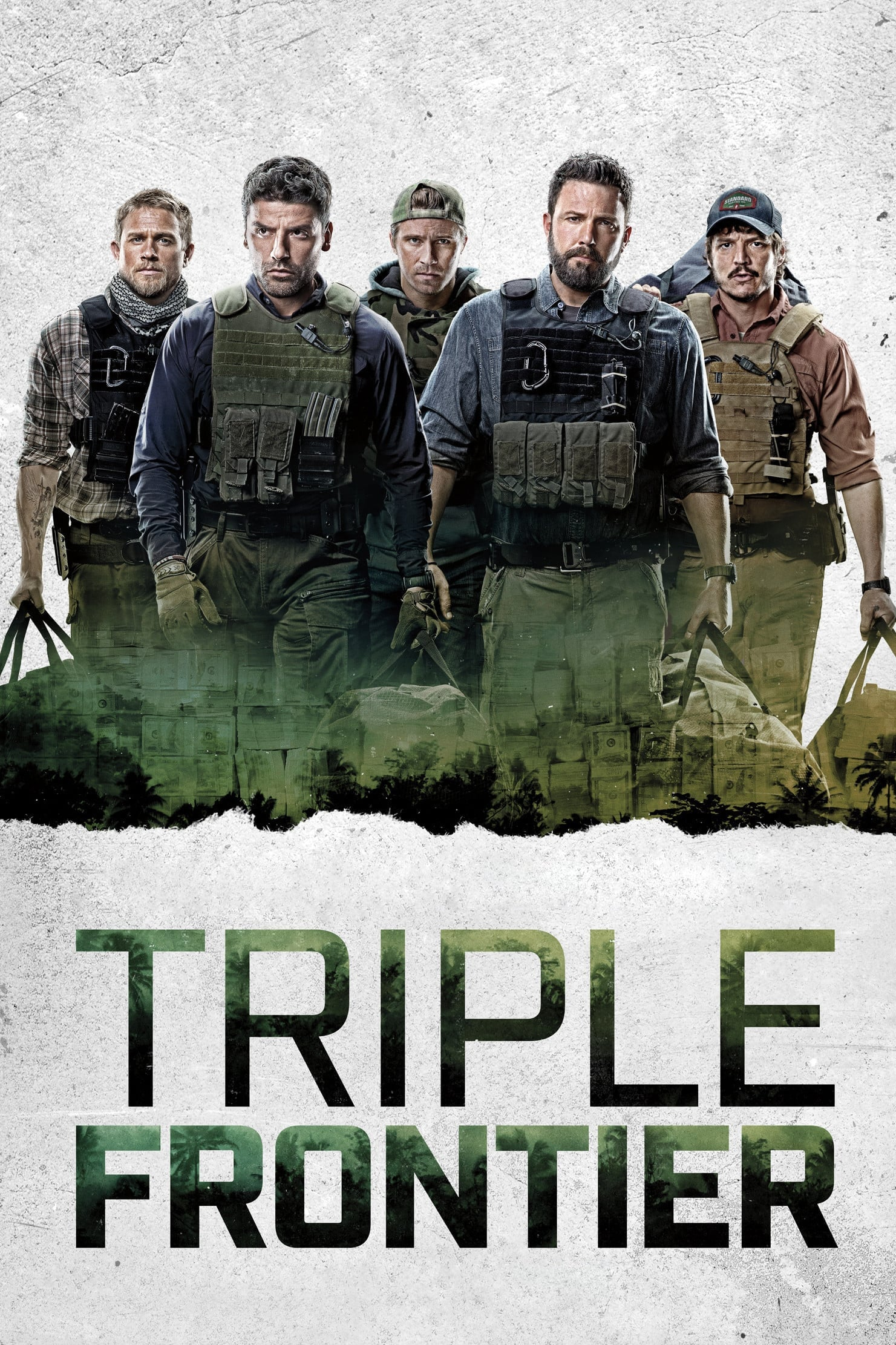 "Poster for the movie ""Triple Frontier"""