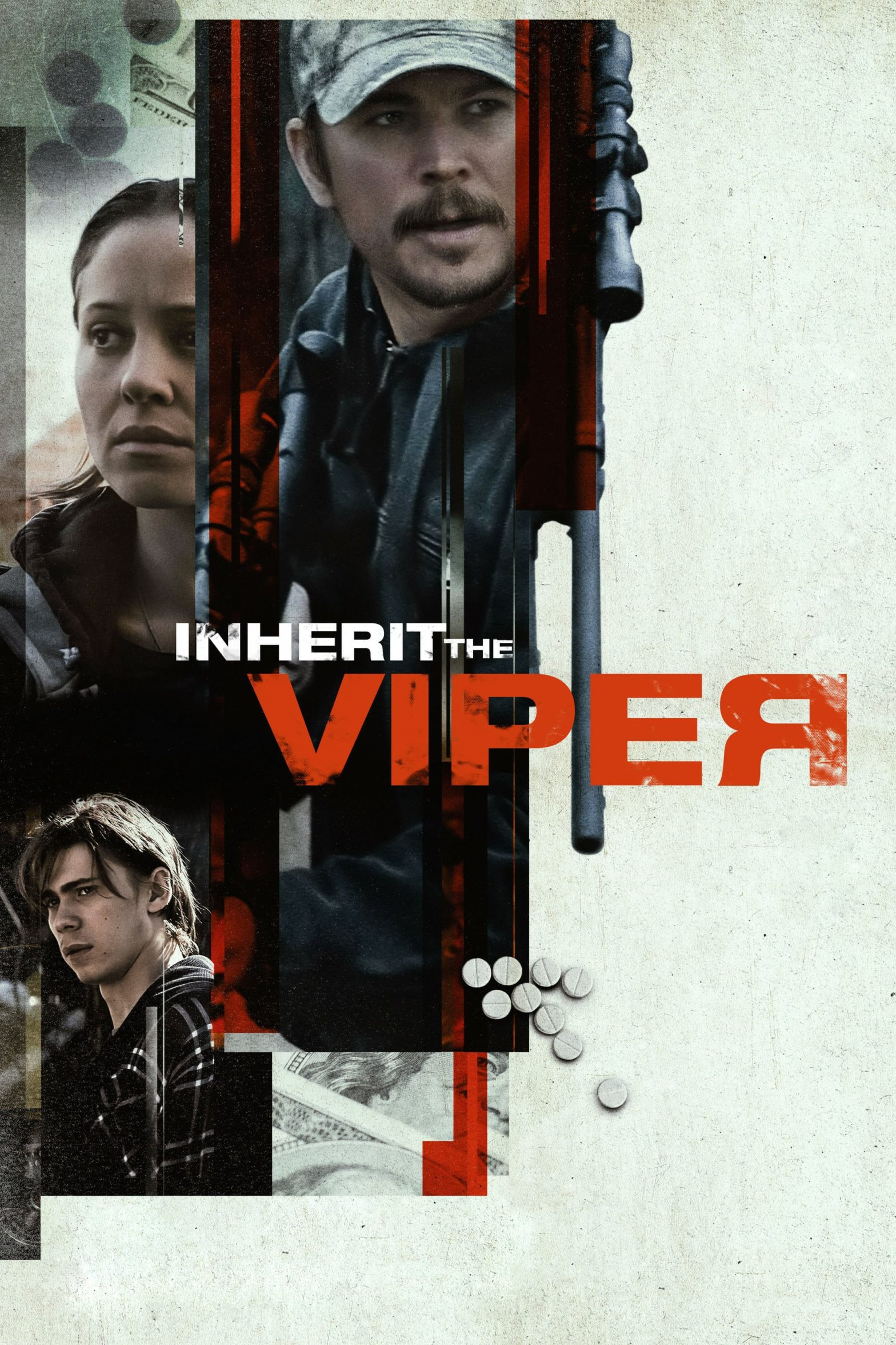 "Poster for the movie ""Inherit the Viper"""