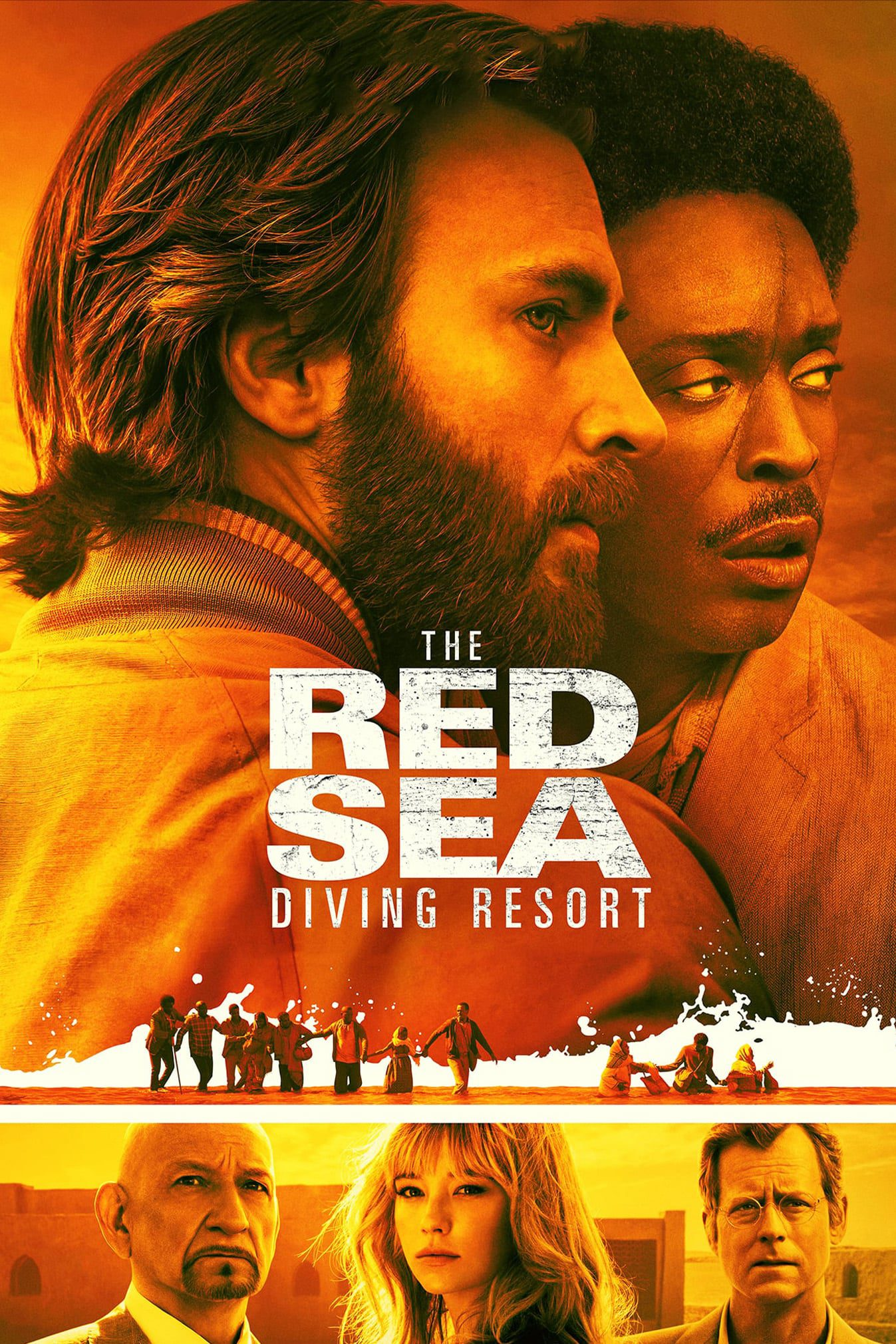 "Poster for the movie ""The Red Sea Diving Resort"""