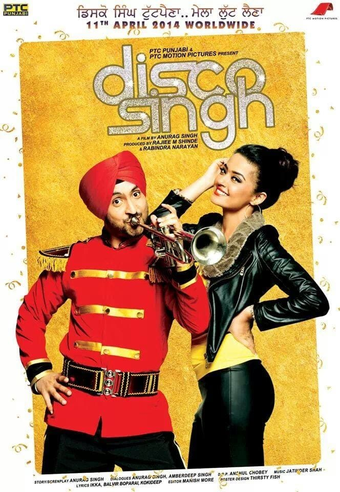"""Poster for the movie """"Disco Singh"""""""